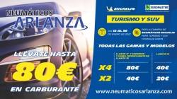 Llévate hasta 80€ en Carburante!!!