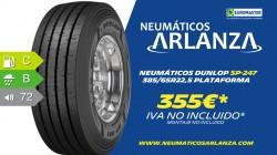 NEUMÁTICOS DUNLOP SP-247 385/65R22,5 PLATAFORMA