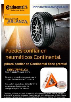 Puedes confiar en Neumáticos Continental