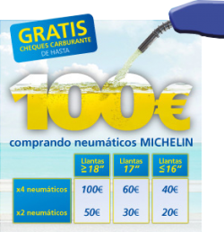 Hasta 100€ en cheques carburante