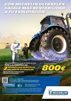 Con Michelin Utraflex te devolvemos hasta 800€